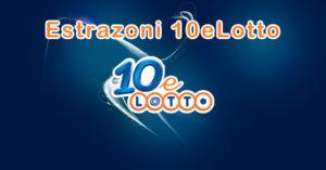 estrazioni 10elotto